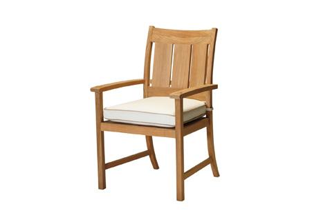 Summer Classics - Croquet Teak Arm Chair - 28304