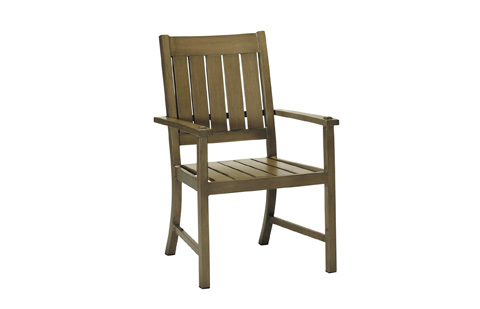 Summer Classics - Croquet Aluminum Arm Chair - 3330