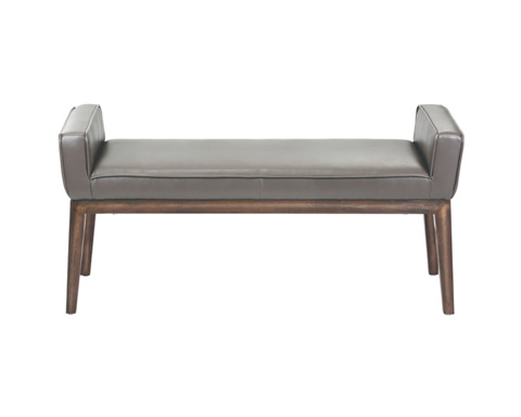 Sunpan Modern Home - Harrod Leather Bench - 100388