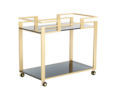 Sunpan Modern Home - Avondale Bar Cart - 100593