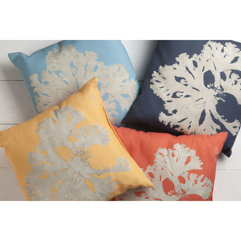 Surya - Rain Throw Pillow - RG056-1818