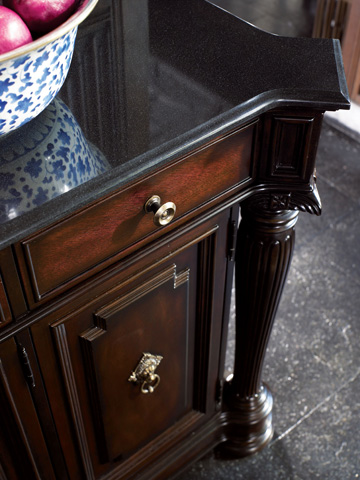 Thomasville Furniture - Granite Top Credenza - 45321-241