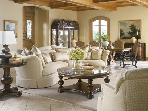 Thomasville Furniture - Bibbiano Upholstered Arm Chair - 43622-882