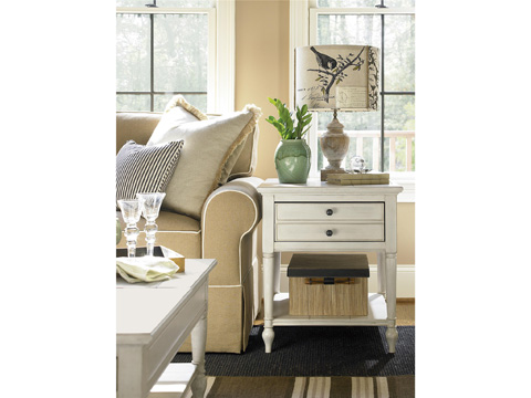 Universal Furniture - One Drawer with Shelf End Table - 987805