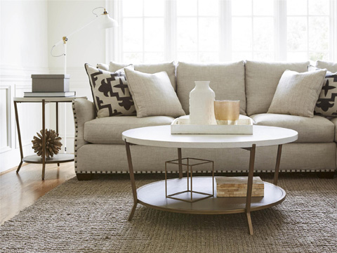 Universal Furniture - Playlist Round End Table - 507815