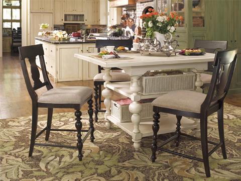 Paula Deen Home - Paula Deen Home Counter Height Chair - 932606-RTA