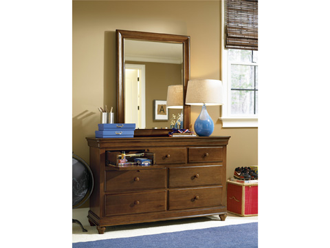 Universal - Smart Stuff - Saddle Brown Drawer Dresser - 1311002