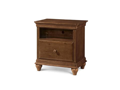 Universal - Smart Stuff - Saddle Brown One Drawer Nightstand - 1311080