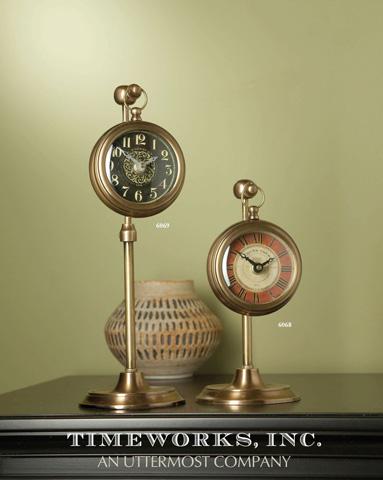 Uttermost Company - Pocket Watch Brass Thuret - 06068