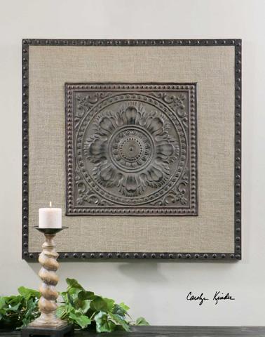 Uttermost Company - Filandari Stamped Metal Wall Art - 13826
