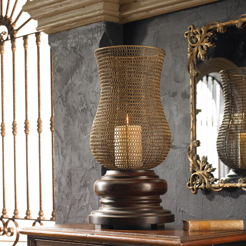 Uttermost Company - Rickma Distressed Candleholders - 19290
