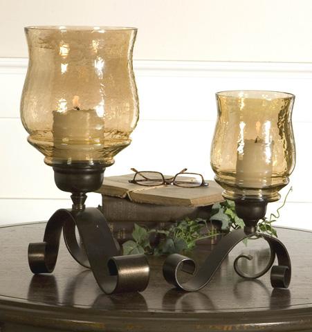 Uttermost Company - Joselyn Bronze Candleholders - 19310