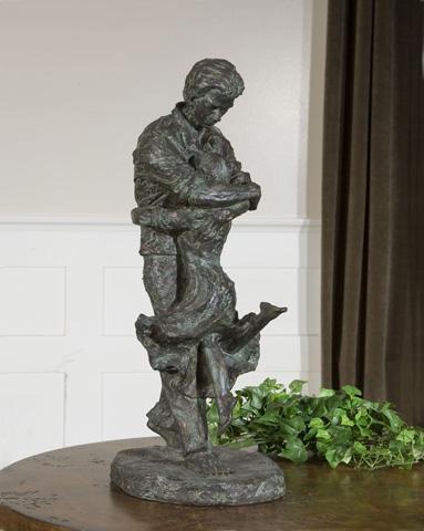 Uttermost Company - Welcome Home Oil Rubbed Bronze Figurine - 19492