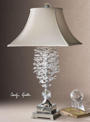 Uttermost Company - Fascination II Silver Table Lamp - 26894