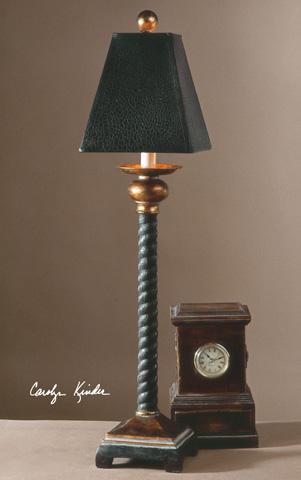 Uttermost Company - Bellcord Black Buffet Lamp - 29007