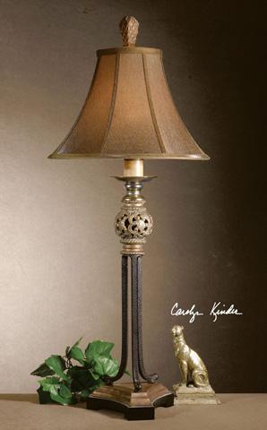 Uttermost Company - Jennell Iron Buffet Lamp - 29091