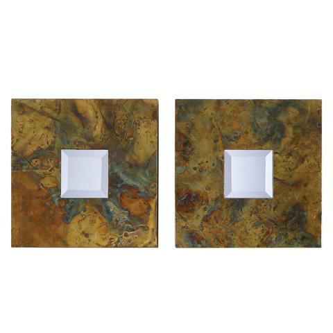 Uttermost Company - Ambrosia Square Wall Mirrors - 07058