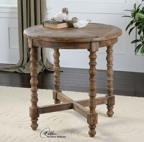 Uttermost Company - Samuelle End Table - 24346