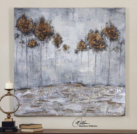 Uttermost Company - Iced Trees Wall Art - 31304