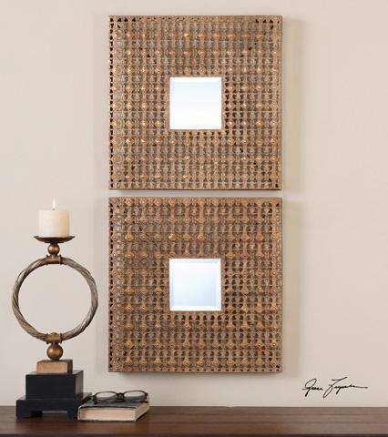 Uttermost Company - Adelina Squares Mirror - 13873