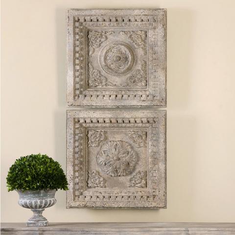 Uttermost Company - Auronzo Squares Wall Décor - 13910