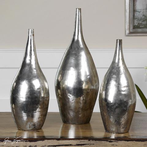 Uttermost Company - Rajata Vases - 19826