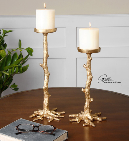 Uttermost Company - Maple Candleholders - 19886
