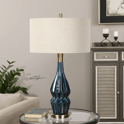 Uttermost Company - Prussian Table Lamp - 27081-1