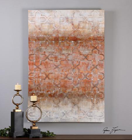 Uttermost Company - Geometric Impressions Art - 35309
