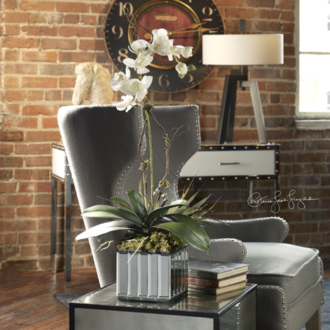 Uttermost Company - Kaleama Orchids White - 60122