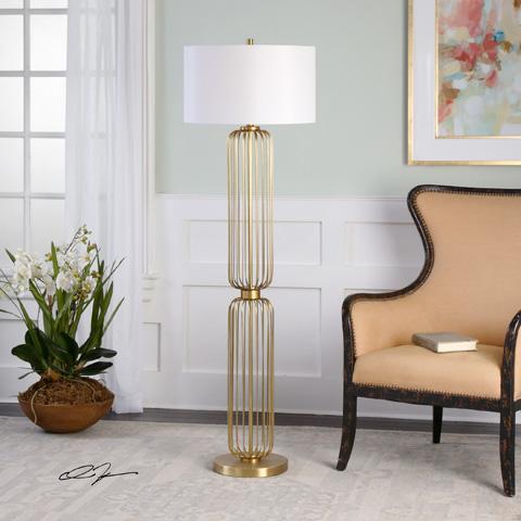 Uttermost Company - Cesinali Floor Lamp - 28085