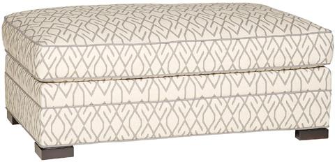 Vanguard Furniture - Nicholas Ottoman and a Half - 644-OTH