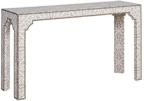 Vanguard Furniture - Bingham Upholstered Table - V126S-UT