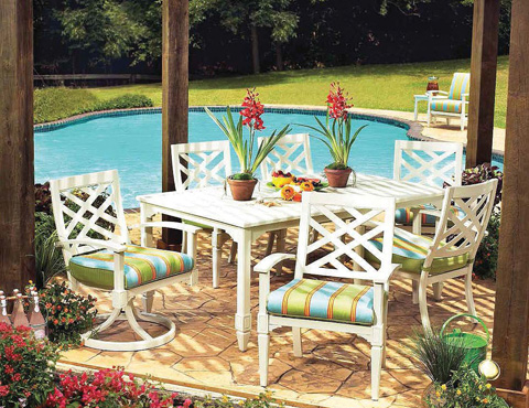 Lane Venture - Belmeade Rectangular Dining Table - 10019-84