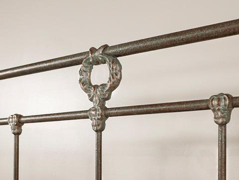 Wesley Allen - Wellington Iron Bed - 1057-CB