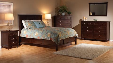 Whittier Wood Furniture - McKenzie Queen Bed - 1346CAF