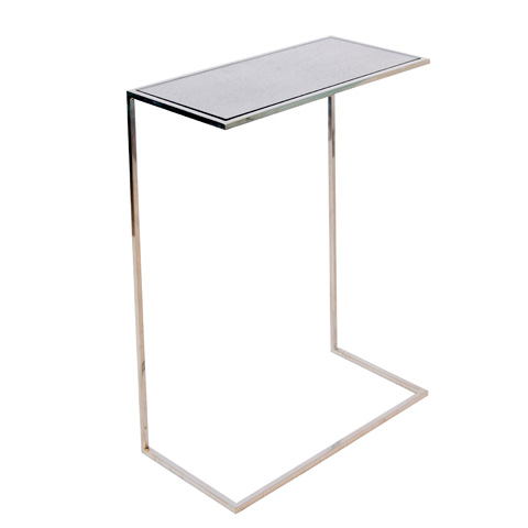 Worlds Away - Nickel Plated Cigar Table - RICO N