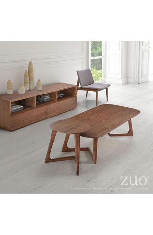 Zuo Modern Contemporary, Inc. - Park West Side Table - 100098