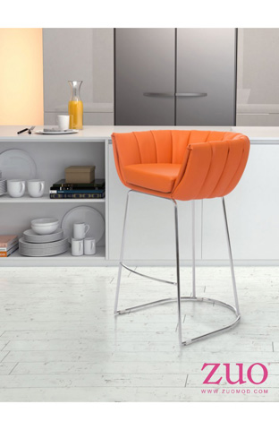 Zuo Modern Contemporary, Inc. - Latte Barstool - 100247
