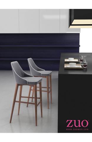 Zuo Modern Contemporary, Inc. - Moor Barstool - 100281