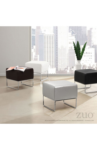 Zuo Modern Contemporary, Inc. - Plush Ottoman - 103004