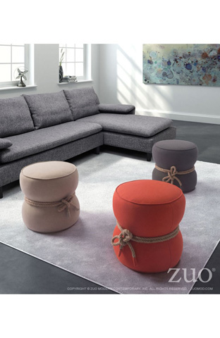 Zuo Modern Contemporary, Inc. - Tubby Round Ottoman - 13019