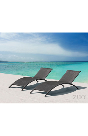 Zuo Modern Contemporary, Inc. - Biarritz Outdoor Chaise Lounge - 701120