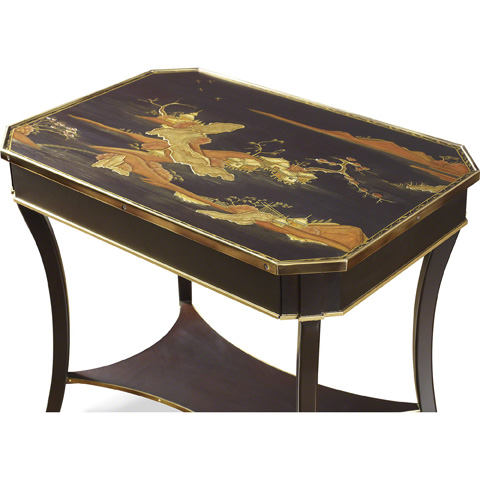 Baker Furniture - Regency Lacquer Occasional Table - 5361