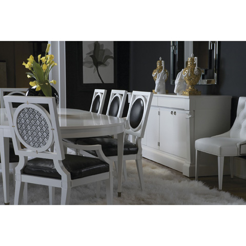 Baker Furniture - Yves Oval Dining Table - 7838