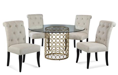 Bassett Mirror Company - Carnaby Dining Table - D2789-700