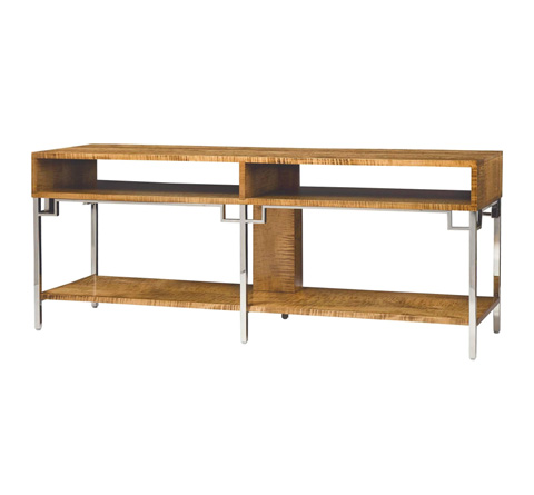 Belle Meade Signature - Carson Contemporary Reclaimed Console Table - 7023ST