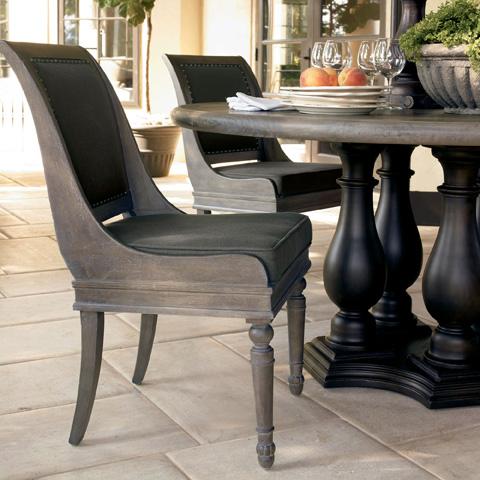 Bernhardt - Belgian Oak Dining Chair - 337-562