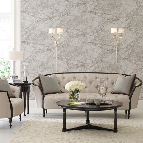 Caracole - Raffaella Chair and a Half - B010-079-A