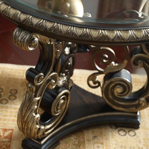 Caracole - Mezzanotte Round Lamp Table - B021-331